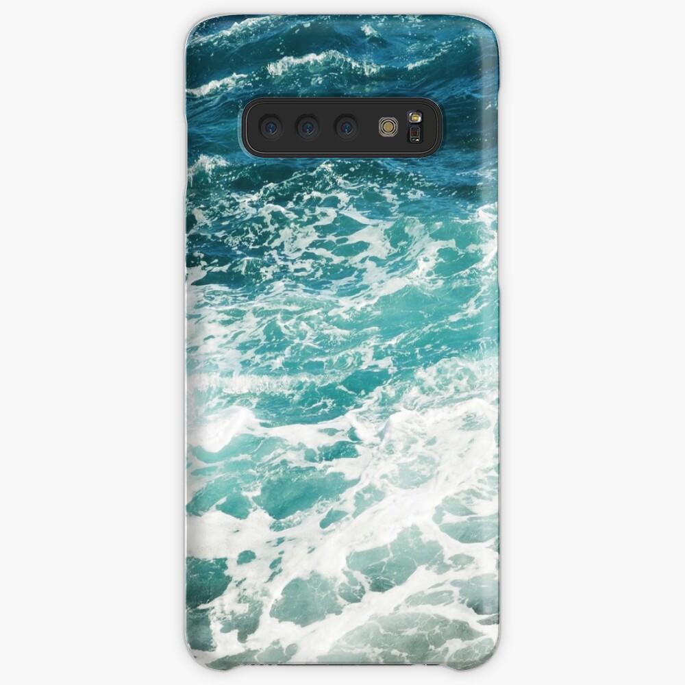 Blue Ocean Waves  Case & Skin for Samsung Galaxy