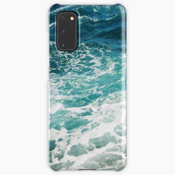 Blue Ocean Waves  Samsung Galaxy Snap Case