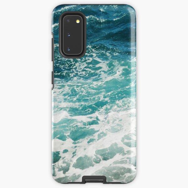Blue Ocean Waves  Samsung Galaxy Tough Case