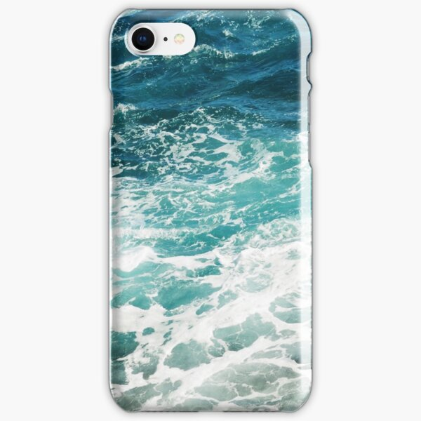Blue Ocean Waves  iPhone Snap Case