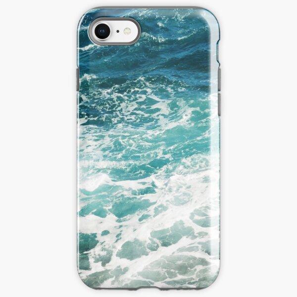 Blue Ocean Waves  iPhone Tough Case