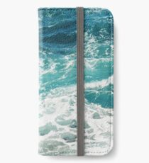 Vinilo o funda para iPhone Blue Ocean Waves