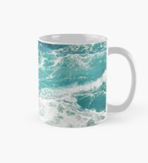 Blue Ocean Waves  Mug