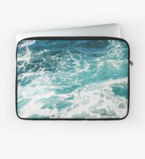 Blue Ocean Waves  Laptop Sleeve