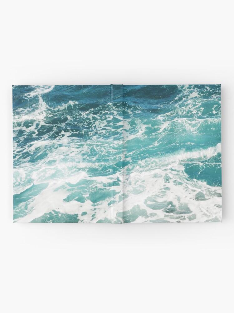 Alternate view of Blue Ocean Waves  Hardcover Journal