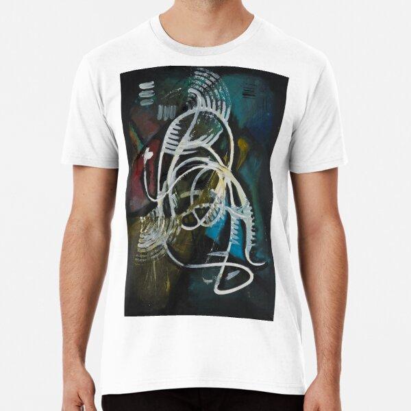 Swirly Acrylic Premium T-Shirt