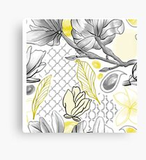 Yellow magnolia Canvas Print
