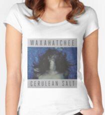 Waxahatchee - cerulan salt vinyl LP sleeve art fan art Women's Fitted Scoop T-Shirt