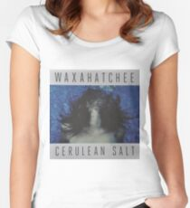 Waxahatchee - cerulan salt vinyl LP sleeve art fan art Fitted Scoop T-Shirt