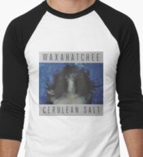 Waxahatchee - cerulan salt vinyl LP sleeve art fan art Baseball ¾ Sleeve T-Shirt