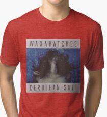 Waxahatchee - cerulan salt vinyl LP sleeve art fan art Tri-blend T-Shirt