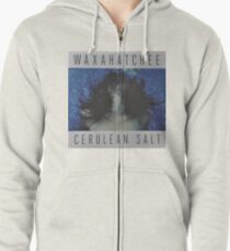 Waxahatchee - cerulan salt vinyl LP sleeve art fan art Zipped Hoodie