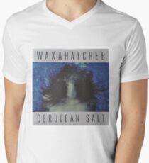 Waxahatchee - cerulan salt vinyl LP sleeve art fan art V-Neck T-Shirt