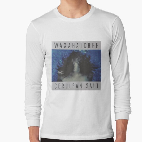 Waxahatchee - cerulan salt vinyl LP sleeve art fan art Long Sleeve T-Shirt