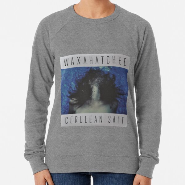 Waxahatchee - cerulan salt vinyl LP sleeve art fan art Lightweight Sweatshirt
