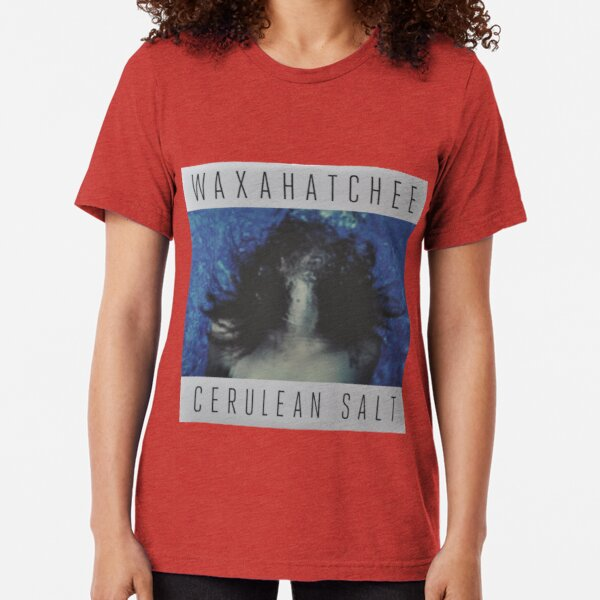 Waxahatchee - cerulan salt vinyl LP sleeve art fan art Tri-blend T-Shirt