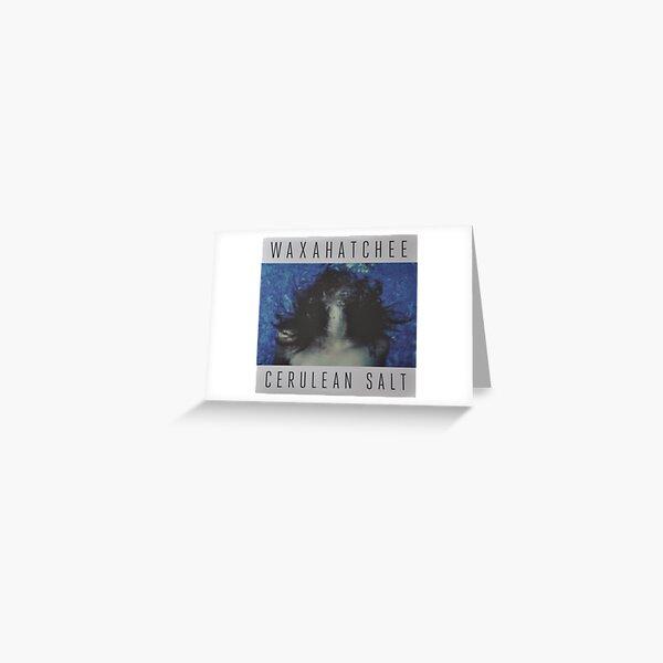 Waxahatchee - cerulan salt vinyl LP sleeve art fan art Greeting Card