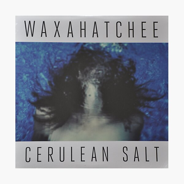 Waxahatchee - cerulan salt vinyl LP sleeve art fan art Photographic Print