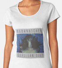 Waxahatchee - cerulan salt vinyl LP sleeve art fan art Women's Premium T-Shirt