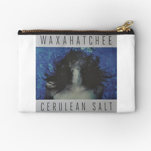 Waxahatchee - cerulan salt vinyl LP sleeve art fan art Zipper Pouch