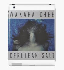 Waxahatchee - cerulan salt vinyl LP sleeve art fan art iPad Case/Skin