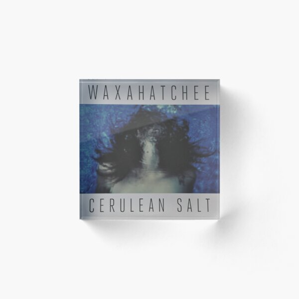 Waxahatchee - cerulan salt vinyl LP sleeve art fan art Acrylic Block