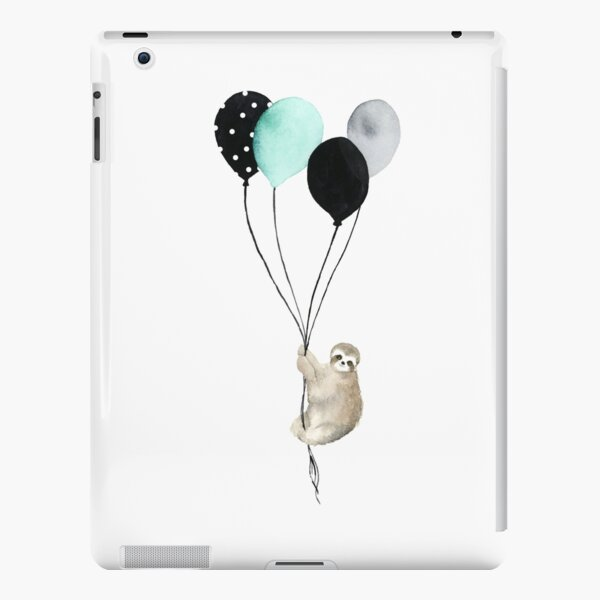Sloth With Balloons iPad Snap Case