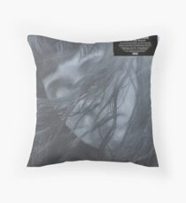 Waxahatchee - out in the storm vinyl LP sleeve art fan art Throw Pillow
