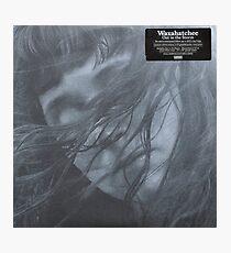Waxahatchee - out in the storm vinyl LP sleeve art fan art Photographic Print