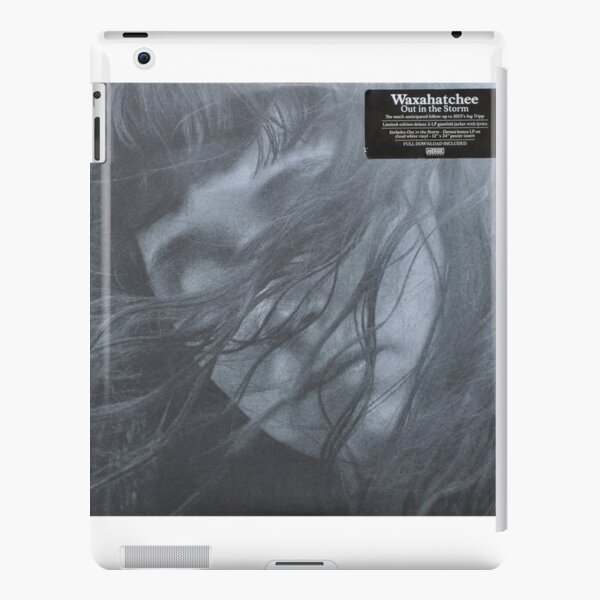 Waxahatchee - out in the storm vinyl LP sleeve art fan art iPad Snap Case