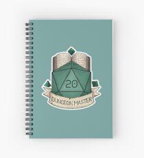 Cuaderno de espiral D & D - D20 - Dungeon Master