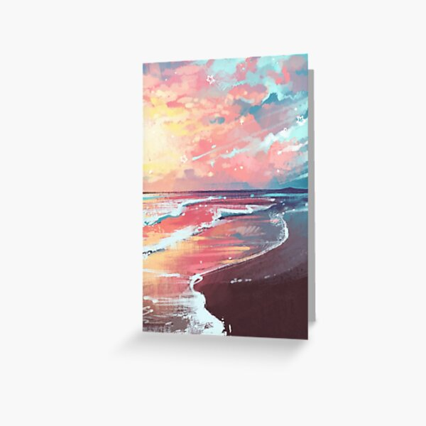 Study of the Sea Greeting Card