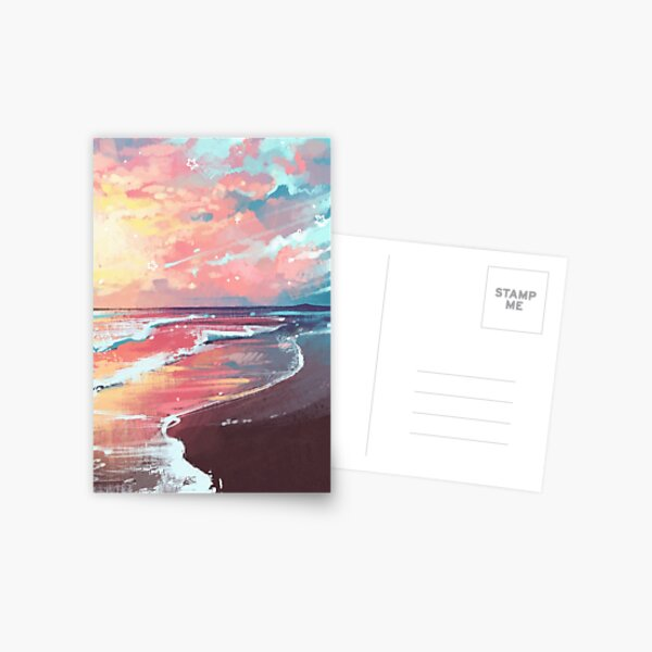 Study of the Sea Postcard