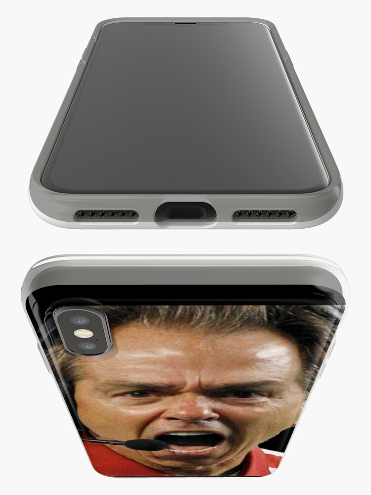 Alternate view of Nick Saban The Hulk iPhone Case & Cover