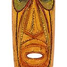 Abstract wooden mask by siloto