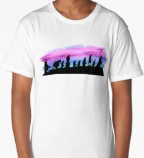 Watercolor Fellowship Long T-Shirt