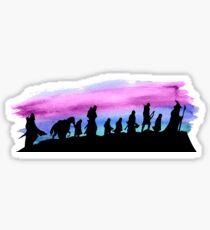 Watercolor Fellowship Sticker