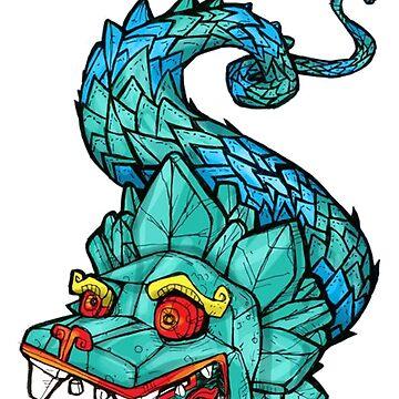 Geometric dragon by Angieml