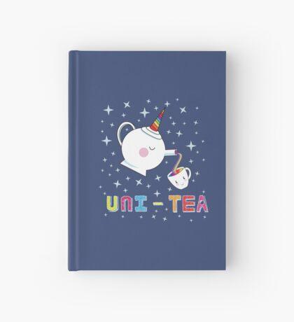 Uni-Tea - Cute Unity Rainbow Tea Pot & Cup Hardcover Journal
