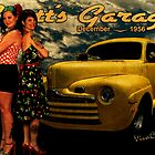 The 46 Ford and the Betties by ChasSinklier