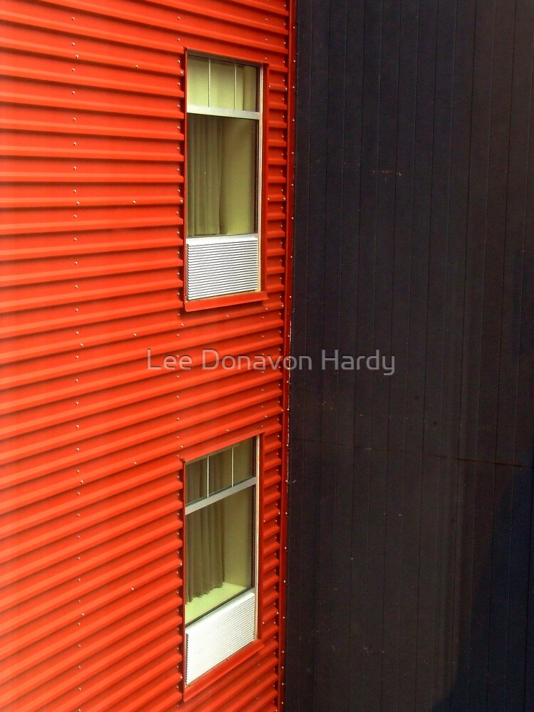 Two Walls by Lee Donavon Hardy