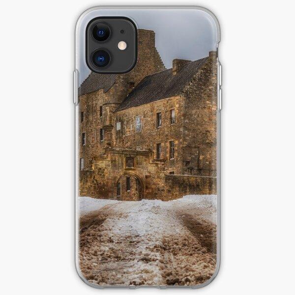 Midhope Castle (aka Lallybroch), West Lothian iPhone Soft Case