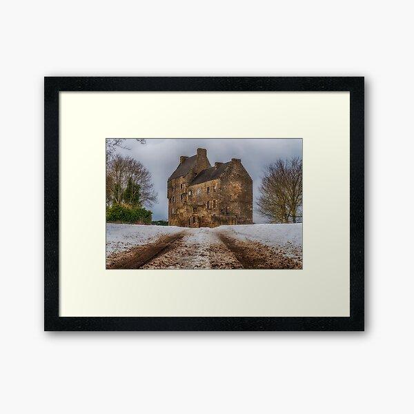 Midhope Castle (aka Lallybroch), West Lothian Framed Art Print