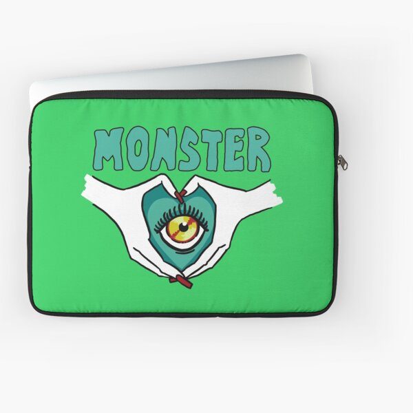 Monster - Hands and Text Laptop Sleeve