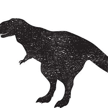 Tyrannosaurus dinosaur by Anviczo