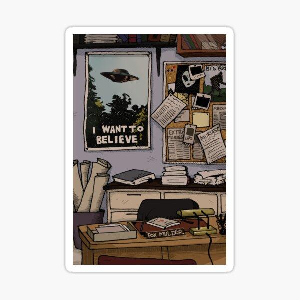 Mulder's Office Sticker