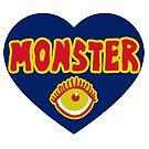 Monster Heart - Blue by ArtsAflame
