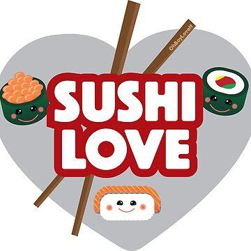 Sushi Design | Sushi Love by OhBoyLoveIt