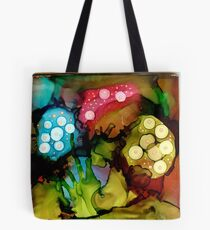 Three Mushrooms Tote Bag