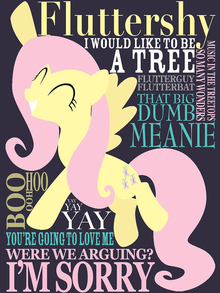 The Many Words of Fluttershy by AssaultWithCake